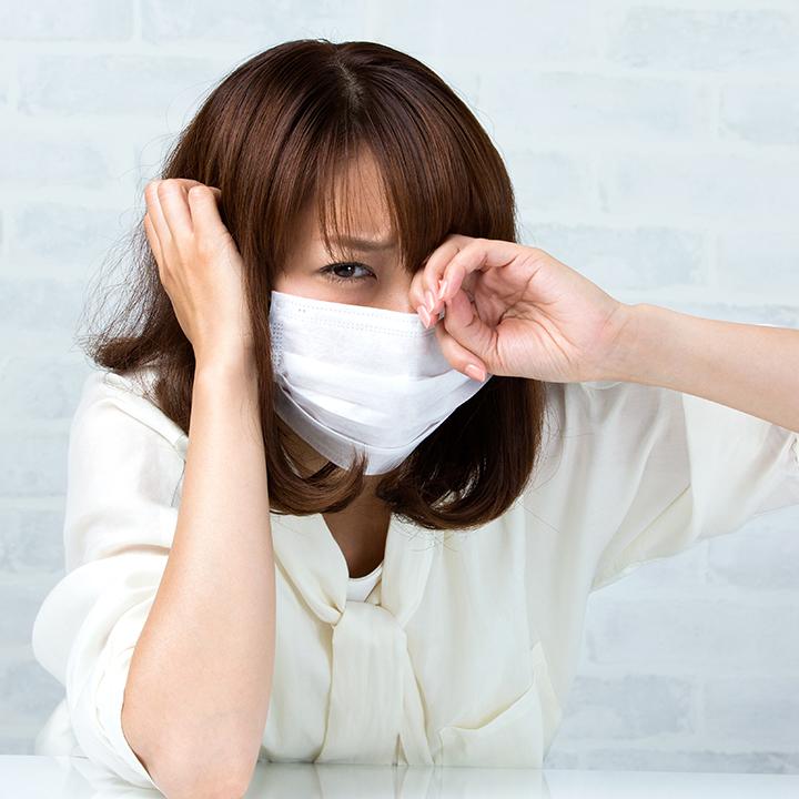 アレルギーからくるトラブル